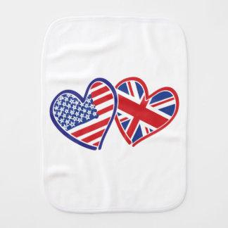 USA---UK-Love Burp Cloths
