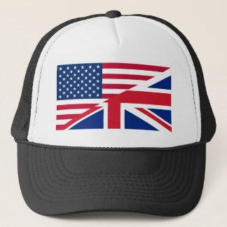 usa uk trucker hat