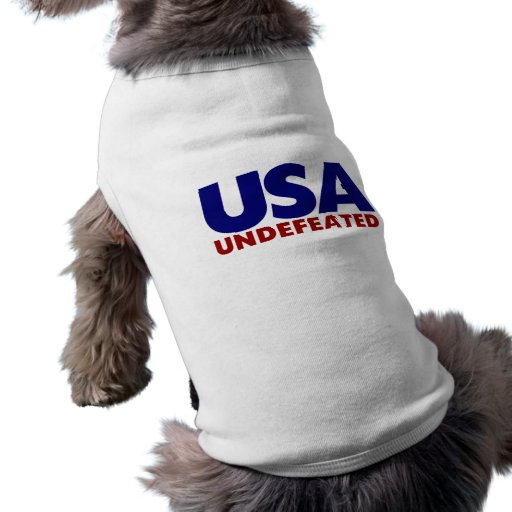 USA UNDEFEATED DOGGIE T SHIRT