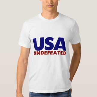 USA UNDEFEATED TSHIRTS