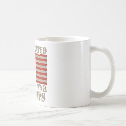 USA, Undefeated World War Champions Coffee Mugs