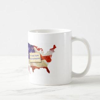 USA: Under New Management Coffee Mug