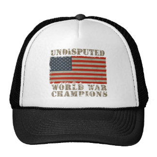 USA, Undisputed World War Champions Trucker Hat