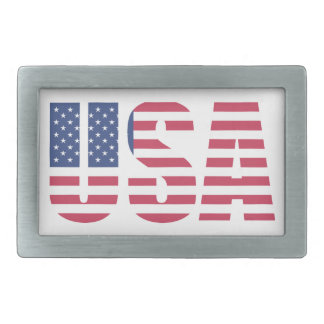 USA United States of America Belt Buckle