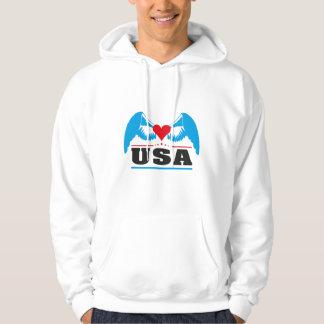 USA United States of America Hoodie