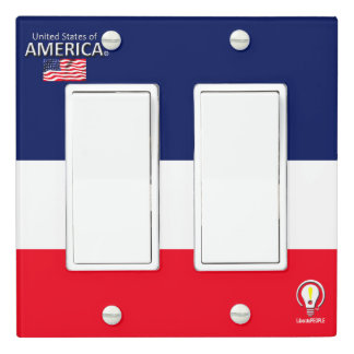 USA United States of America Light Switch Cover