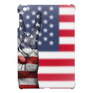 Usa United States Us America Peace Hand Nation iPad Mini Case