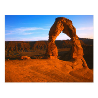 USA, Utah, Arches National Park, Delicate Arch Postcard