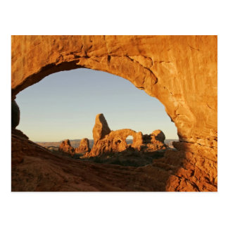 USA, Utah, Arches National Park. Turret arch Postcard
