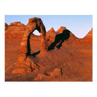 USA, Utah, Arches NP. Delicate Arch is one of Postcard