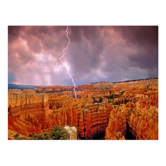 USA, Utah, Bryce Canyon National Park. Postcard