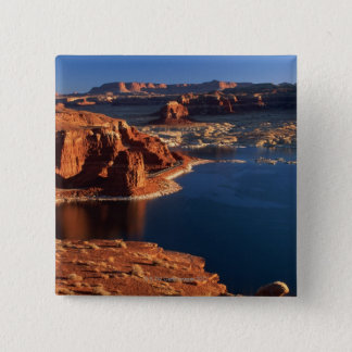 USA, Utah, Glen Canyon National Recreation Area 2 2 Inch Square Button