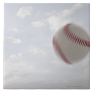 USA, Utah, Lehi, Baseball against sky Tile
