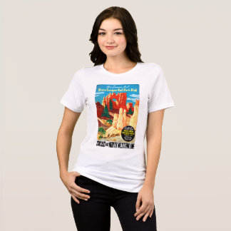 USA Utah Vintage Travel Poster Restored T-Shirt