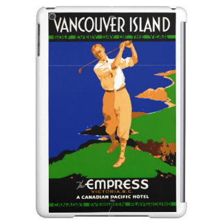 USA Vancouver Island Vintage Poster Restored Case For iPad Air