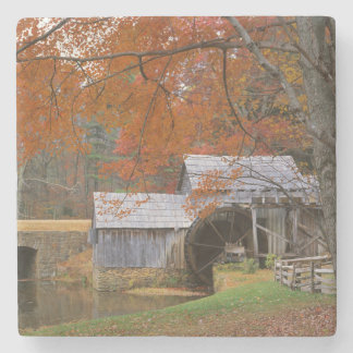 USA, Virginia, Blue Ridge Parkway, Autumn Stone Coaster