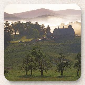 USA, Virginia, Giles County, Farm Beverage Coaster