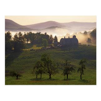 USA, Virginia, Giles County, Farm Postcard