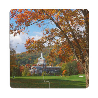 USA, Virginia, Hot Springs, The Homestead Puzzle Coaster