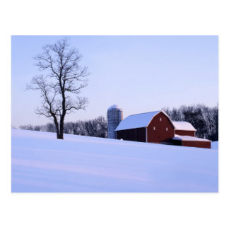 USA, Virginia, Shenandoah Valley, Barn Postcard