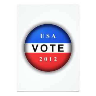 USA Vote 2012 Card
