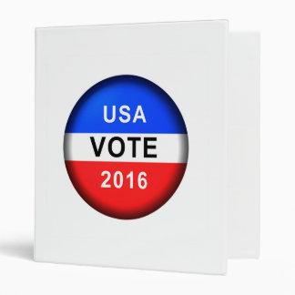 USA VOTE 2016 BINDERS