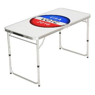 USA VOTE 2016 PONG TABLE