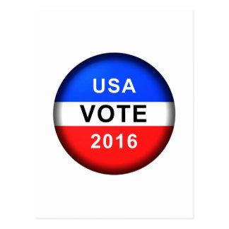 USA VOTE 2016 POSTCARD