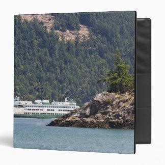 USA, WA. Washington State Ferries Vinyl Binder