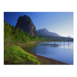 USA, Washington, Beacon Rock State Park, Beacon Postcard