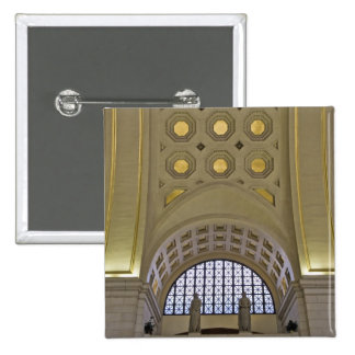 USA, Washington, D.C. View of ceiling 2 Inch Square Button