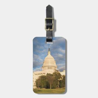 USA, Washington DC, Capitol building Bag Tag