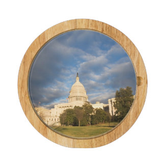 USA, Washington DC, Capitol building Rectangular Cheeseboard