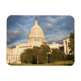 USA, Washington DC, Capitol building Rectangular Photo Magnet