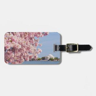 USA, Washington DC, Cherry tree Bag Tag