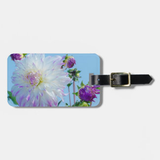 USA, Washington. Detail Of Dahlia Flowers Luggage Tag