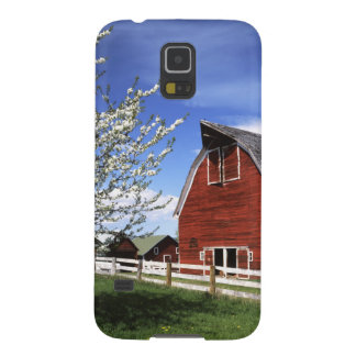 USA, Washington, Ellensburg, Barn Galaxy S5 Covers