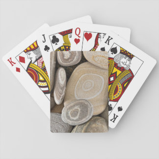 USA, Washington, Seabeck. Close-Up Of Beach 2 Playing Cards