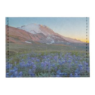 USA, Washington State. Alpine Lupine Tyvek® Card Wallet