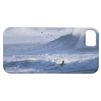USA, Washington State, La Push. Man kayak iPhone 5 Case