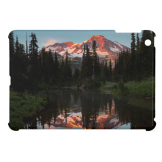 USA, Washington State. Mt. Rainier Reflected iPad Mini Case