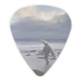 USA, Washington State, Olympic National Park. Acetal Guitar Pick