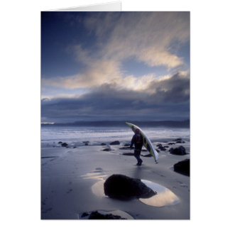 USA, Washington State, Olympic National Park. Greeting Card