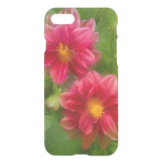 USA, Washington, Whidbey Island. Dahlia montage iPhone 7 Case