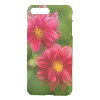 USA, Washington, Whidbey Island. Dahlia montage iPhone 7 Plus Case