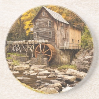 USA, West Virginia, Clifftop. Babcock State 2 Drink Coasters