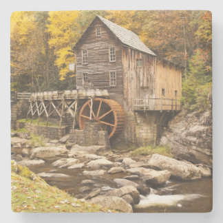 USA, West Virginia, Clifftop. Babcock State 2 Stone Coaster