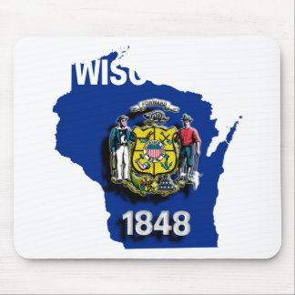 USA Wisconsin Mouse Pad
