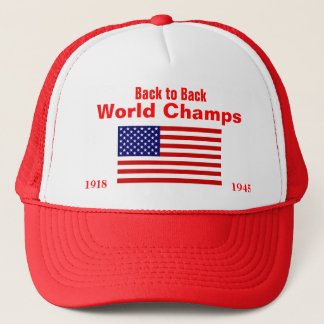 USA World Champs, 1918, 1945 Trucker Hat