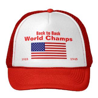 USA World Champs, 1918, 1945 Trucker Hat
